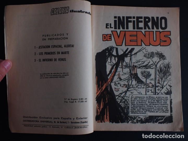 Cómics: GALAXIA Nº 3 EDITORIAL VERTICE GRAPA - Foto 2 - 197609037