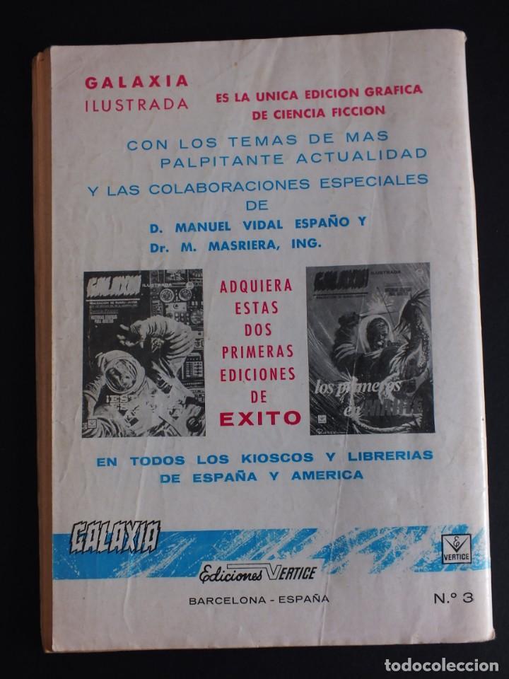 Cómics: GALAXIA Nº 3 EDITORIAL VERTICE GRAPA - Foto 3 - 197609037