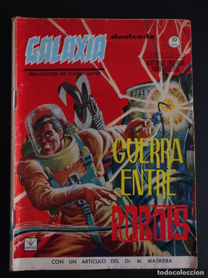 GALAXIA Nº 4 EDITORIAL VERTICE GRAPA (Tebeos y Comics - Vértice - Otros)