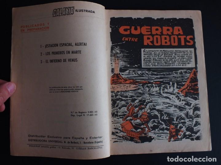 Cómics: GALAXIA Nº 4 EDITORIAL VERTICE GRAPA - Foto 2 - 197609132