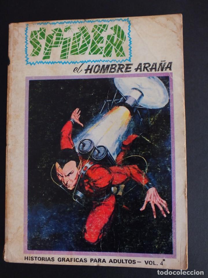 SPIDER Nº 4 EDICIÓN ESPECIAL EDITORIAL VERTICE (Tebeos y Comics - Vértice - Otros)