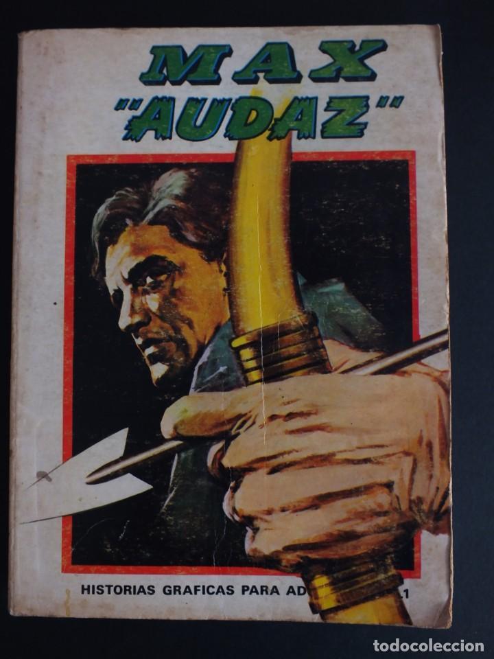 MAX AUDAZ Nº 1 EDICIÓN ESPECIAL EDITORIAL VERTICE (Tebeos y Comics - Vértice - Otros)