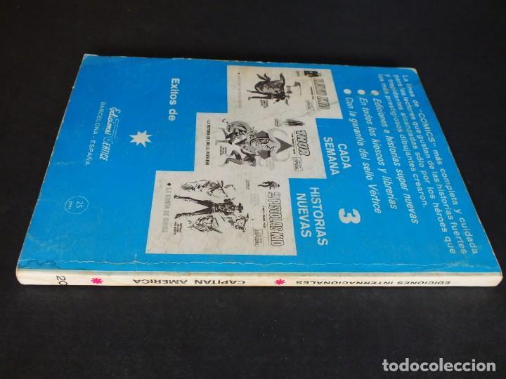 Cómics: CAPITAN AMERICA Nº 20 VOLUMEN 1 EDITORIAL VERTICE - Foto 3 - 197646172