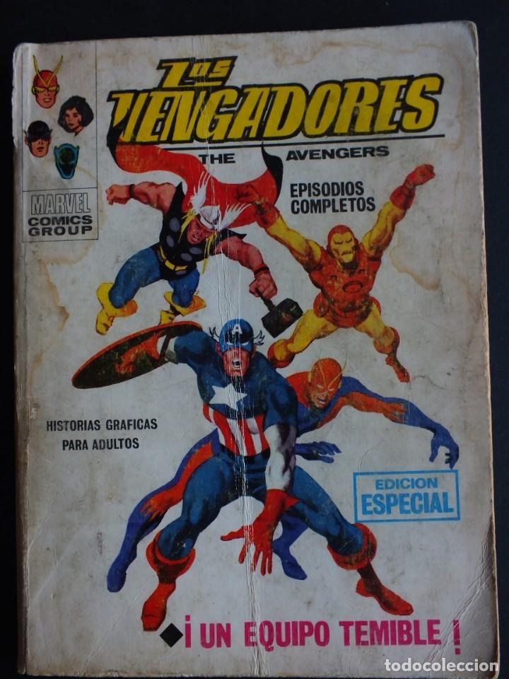 LOS VENGADORES Nº 2 VOLUMEN 1 EDITORIAL VERTICE (Tebeos y Comics - Vértice - V.1)