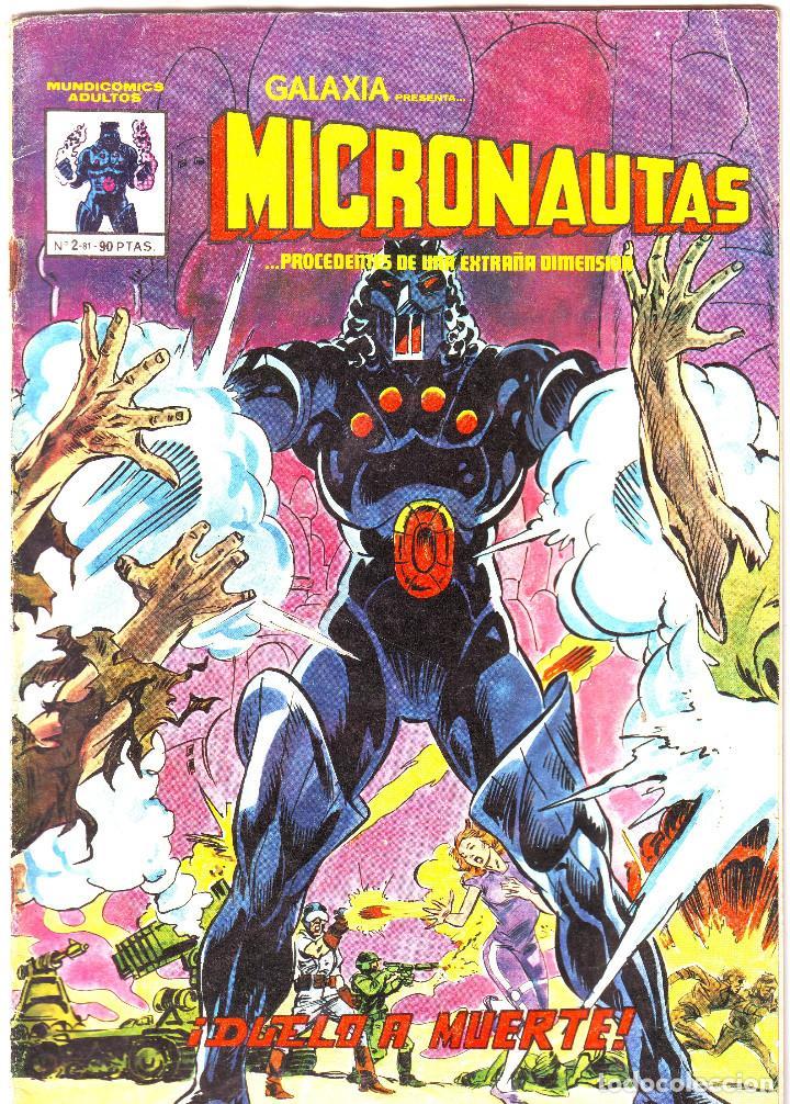 MICRONAUTAS. DUELO A MUERTE (Tebeos y Comics - Vértice - Surco / Mundi-Comic)