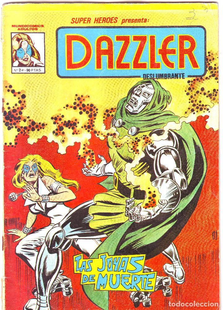 DAZZLER. LAS JOYAS DE LA MUERTE (Tebeos y Comics - Vértice - Surco / Mundi-Comic)