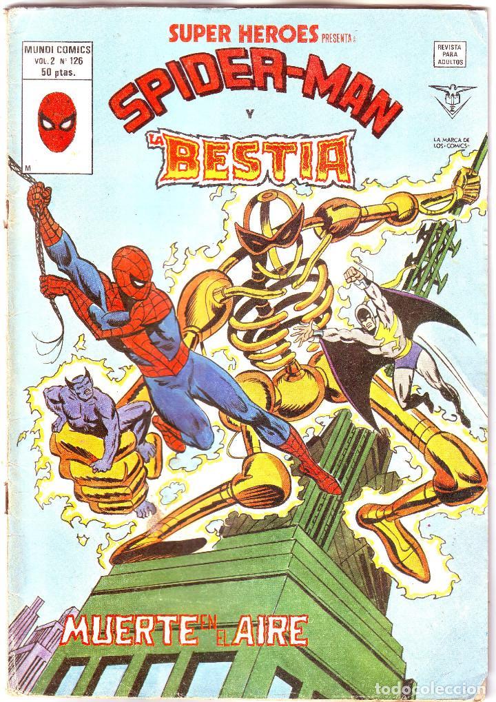 SPIDER - MAN. MUERTE EN EL AIRE (Tebeos y Comics - Vértice - Surco / Mundi-Comic)