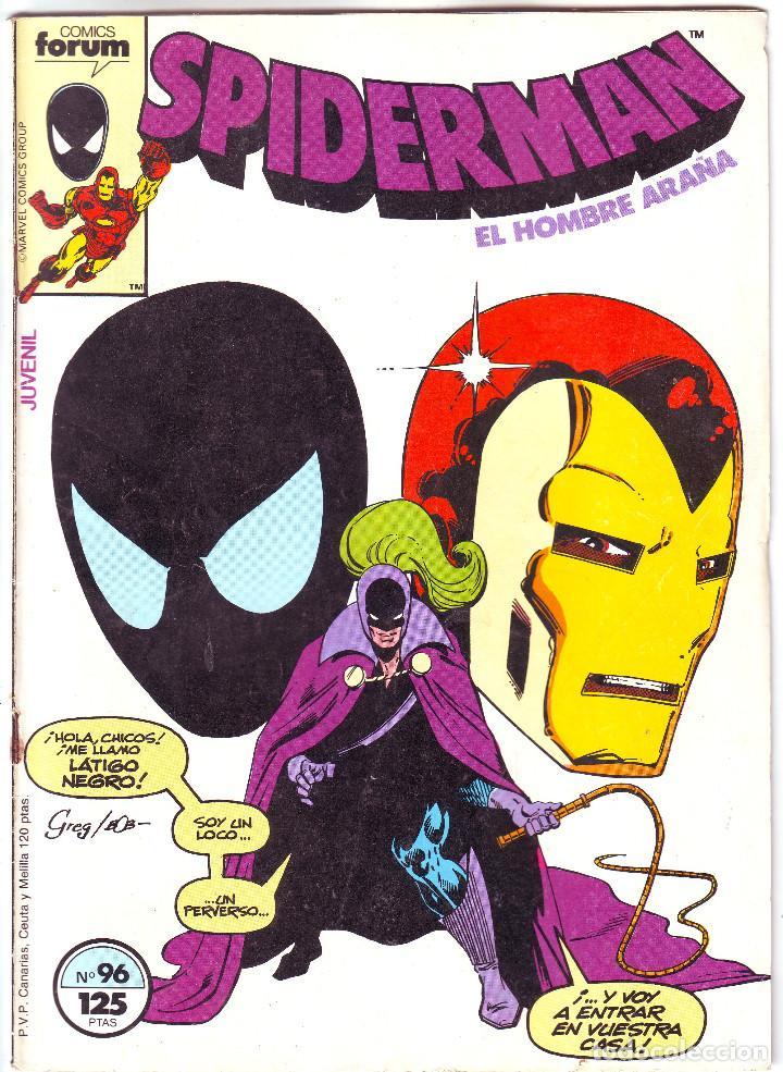 SPIDERMAN EL HOMBRE ARAÑA Nº 96 (Tebeos y Comics - Vértice - Surco / Mundi-Comic)