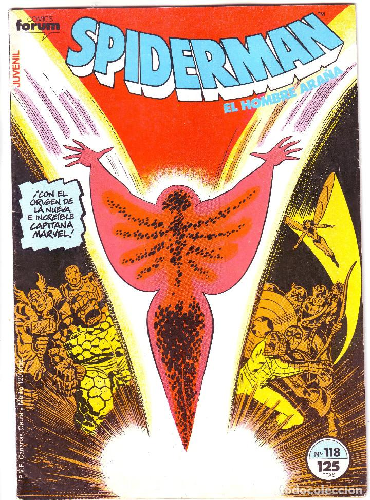 SPIDERMAN Nº 114 (Tebeos y Comics - Vértice - Surco / Mundi-Comic)