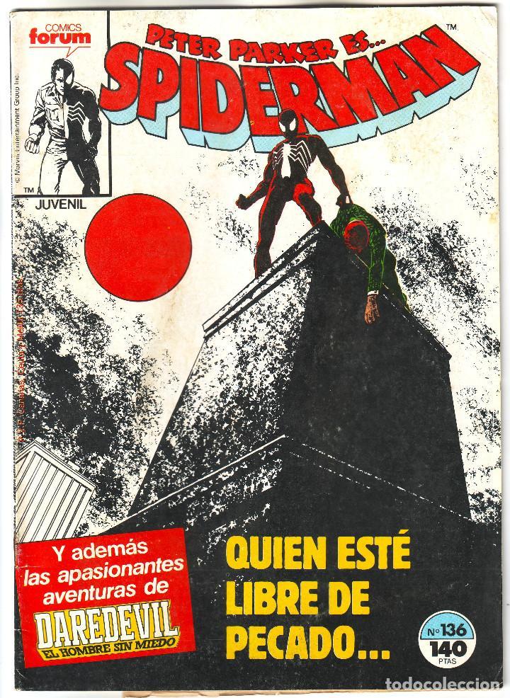 SPIDERMAN. QUIEN ESTÉ LIBRE DE PECADO (Tebeos y Comics - Vértice - Surco / Mundi-Comic)