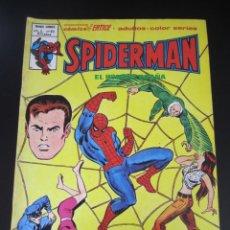Cómics: SPIDERMAN (1975, VERTICE) -V 3- 63 · II-1981 · EL VUELO OSCURO DE LA MUERTE. Lote 197672956
