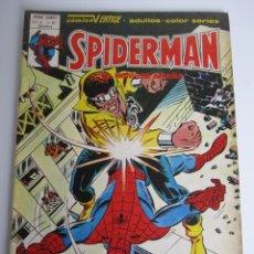 Cómics: SPIDERMAN (1975, VERTICE) -V 3- 61 · XII-1980 · SIMPLEMENTE POWERMAN. Lote 197673501