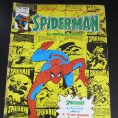 Cómics: SPIDERMAN (1975, VERTICE) -V 3- 58 · IX-1980 · EL PLAN MORTAL DEL DISRUPTOR. Lote 197674116