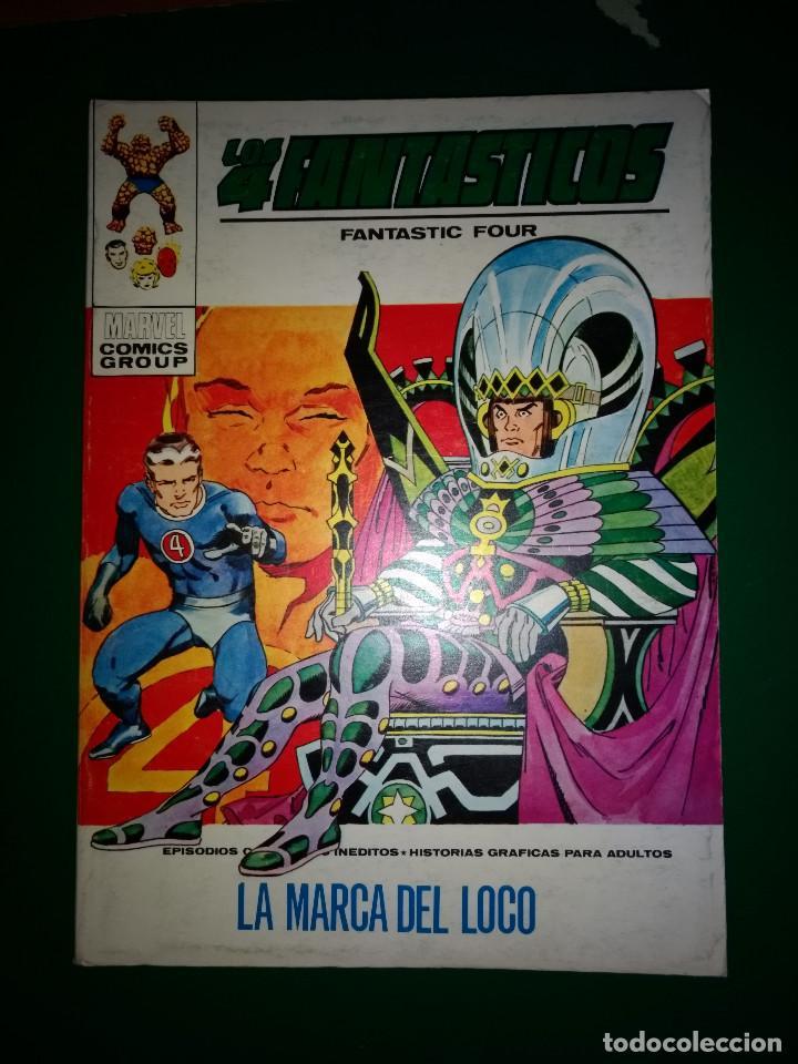 LOS 4 FANTASTICOS VOL.1 Nº 41 VÉRTICE 1972 BUEN ESTADO (Tebeos y Comics - Vértice - 4 Fantásticos)