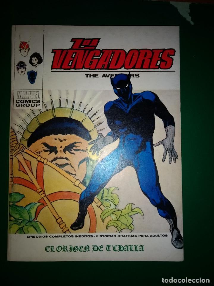 LOS 4 VENGADORES VOL.1 Nº 40 VÉRTICE 1972 BUEN ESTADO (Tebeos y Comics - Vértice - Vengadores)