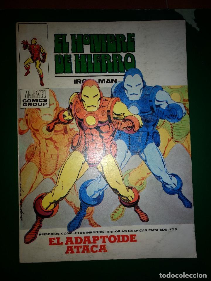 EL HOMBRE DE HIERRO VOL.1 Nº 25 VÉRTICE 1972 BUEN ESTADO (Tebeos y Comics - Vértice - Hombre de Hierro)