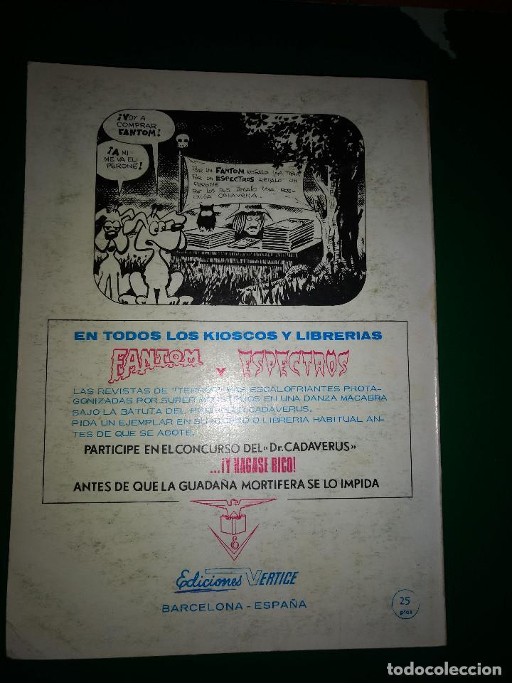 Cómics: EL HOMBRE DE HIERRO VOL.1 Nº 25 VÉRTICE 1972 buen estado - Foto 3 - 197722146