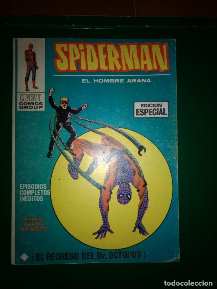 SPIDERMAN VOL.1 Nº 5 VÉRTICE 1972 BUEN ESTADO (Tebeos y Comics - Vértice - V.1)