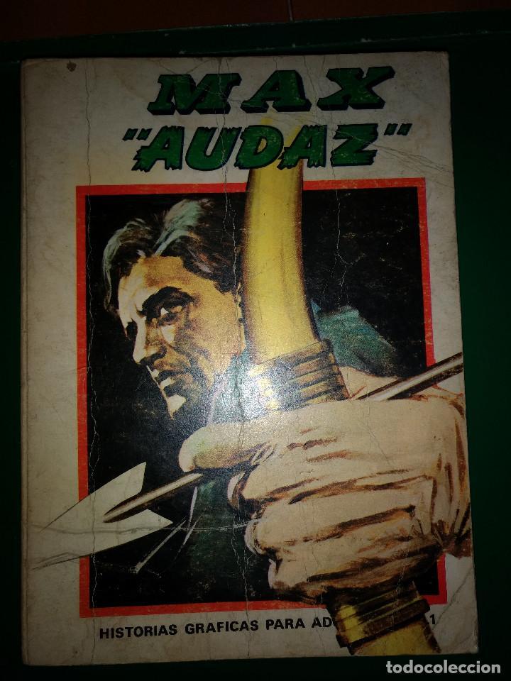 MAX AUDAZ TOMO EDICION ESPECIAL Nº 1 VÉRTICE 1973 (Tebeos y Comics - Vértice - Otros)