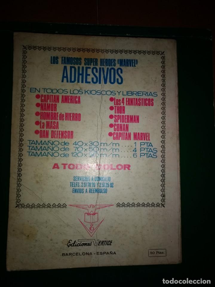 Cómics: MAX AUDAZ TOMO EDICION ESPECIAL Nº 1 VÉRTICE 1973 - Foto 3 - 197723585