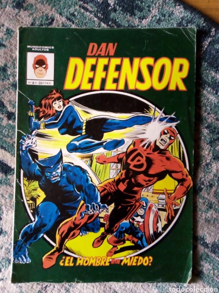 DAN DEFENSOR 4. MUNDICOMICS. VÉRTICE (Tebeos y Comics - Vértice - Dan Defensor)