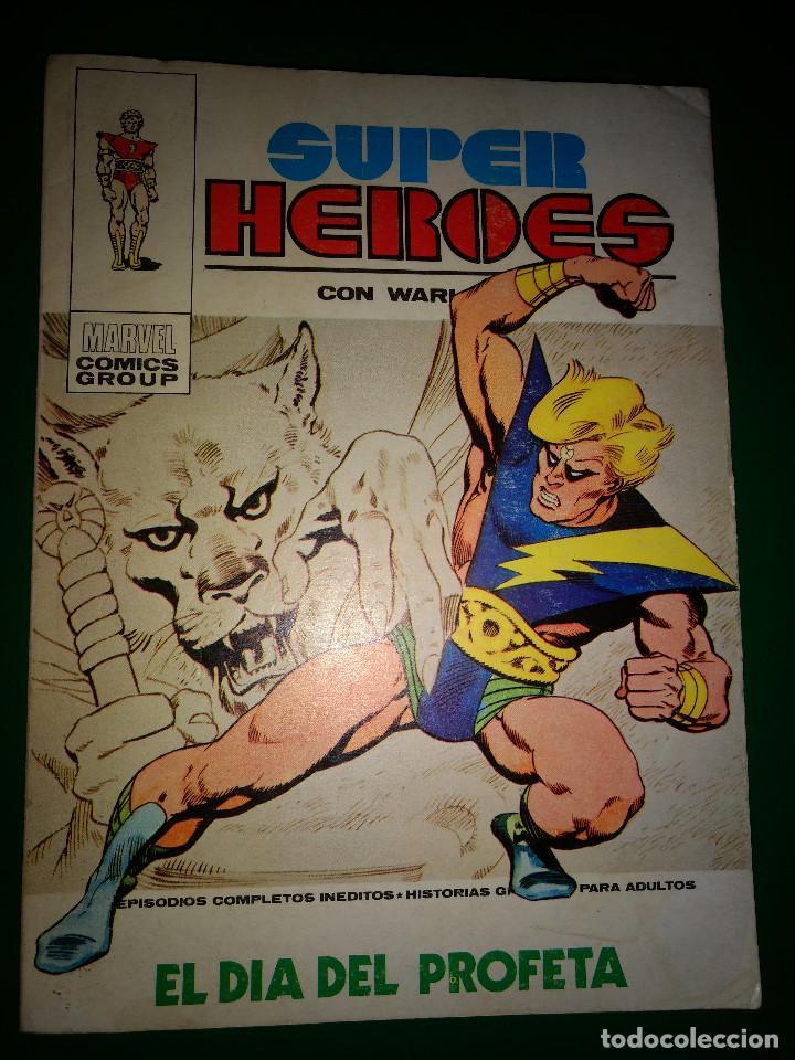 SUPER HEROES V1 Nº 1 VÉRTICE AÑOS 70 (Tebeos y Comics - Vértice - Otros)