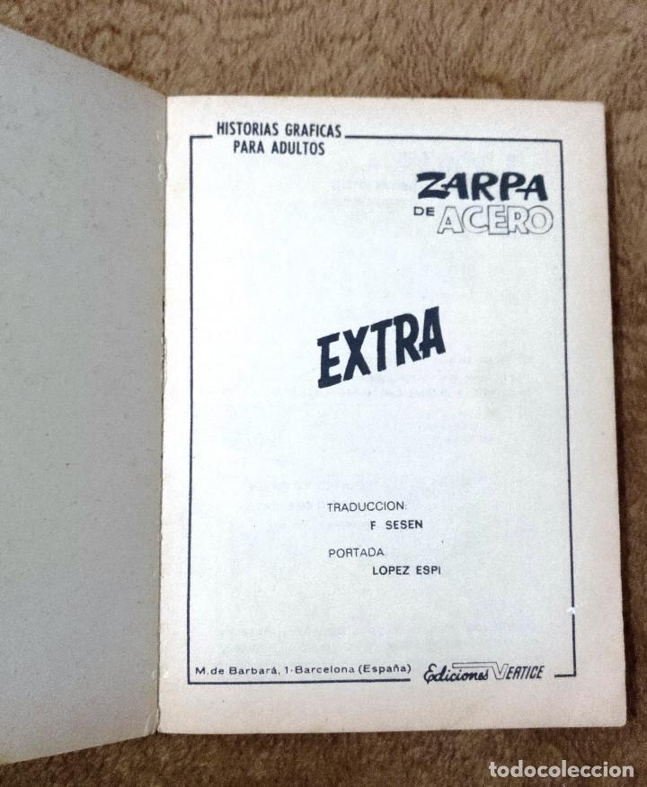 Cómics: ZARPA DE ACERO nº 30 (Vertice 1969) Ultimo de la coleccion. - Foto 2 - 98957859