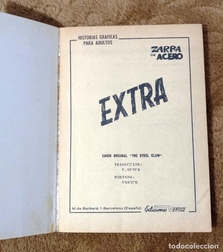 Cómics: ZARPA DE ACERO nº 17 (Vertice 1ª edicion 1968) - Foto 2 - 98960643