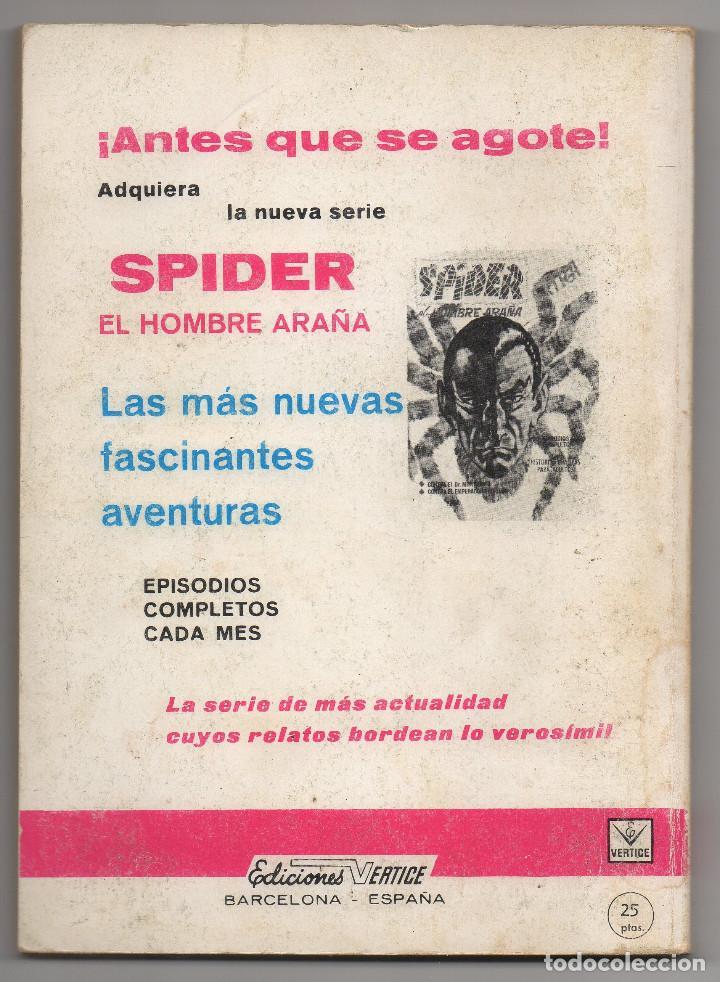 Cómics: ZARPA DE ACERO nº 17 (Vertice 1ª edicion 1968) - Foto 6 - 98960643