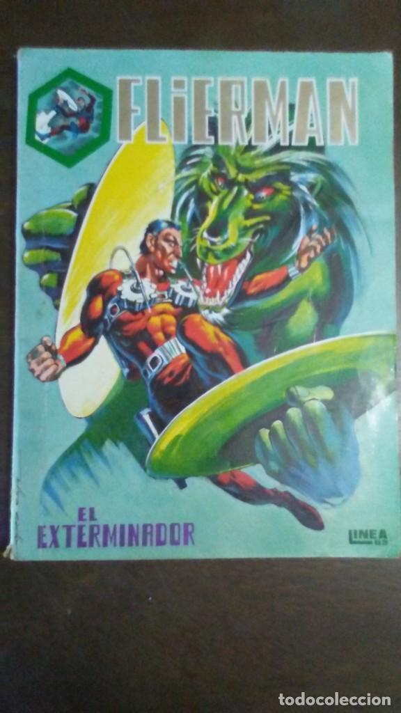 FLIERMAN NºS 1 AL 5 (Tebeos y Comics - Vértice - Surco / Mundi-Comic)