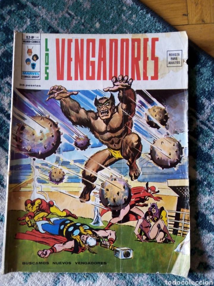 LOS VENGADORES VOL 2, NÚM 14 (Tebeos y Comics - Vértice - Vengadores)