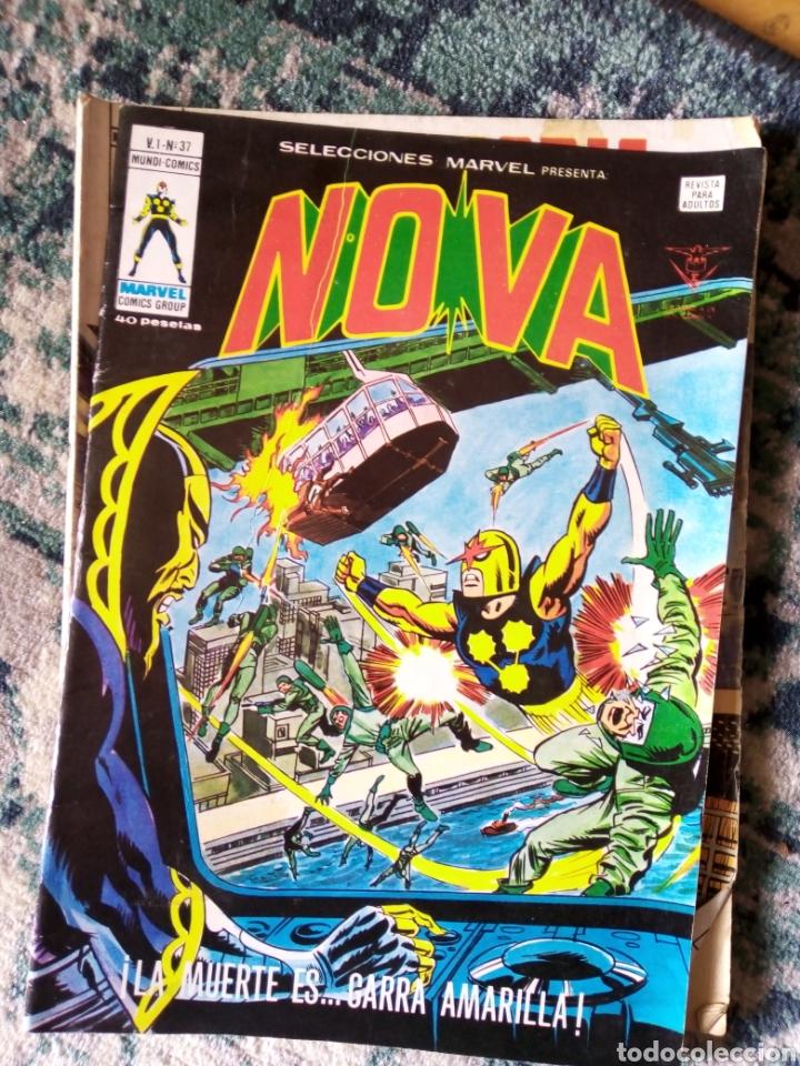 NOVA. SELECCIONES MARVEL VOL 1 NÚM 37 (Tebeos y Comics - Vértice - Otros)