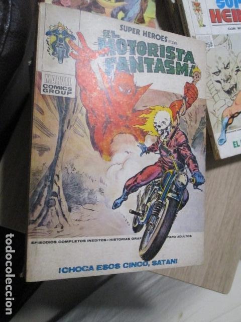 EL MOTORISTA FANTASMA. CHOCA ESOS CINCO SATAN. Nº4. VERTICE. TACO. 1974. BUEN ESTADO (Tebeos y Comics - Vértice - Super Héroes)