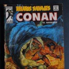 Fumetti: RELATOS SALVAJES Nº 55 CONAN VOLUMEN 1 EDITORIAL VERTICE. Lote 198087893