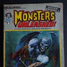Fumetti: ESCALOFRÍO Nº 3 VOLUMEN 1 EDITORIAL VERTICE. Lote 198088687
