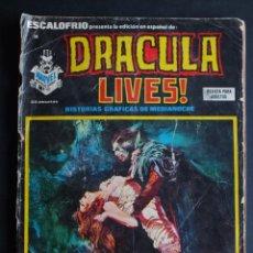 Comics : ESCALOFRÍO Nº 38 DRACULA LIVES EDITORIAL VERTICE. Lote 198089285