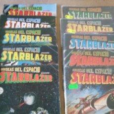 Cómics: ODISEAS DEL ESPACIO , STARBLAZER , COMPLETA COL, DE 10 NS , BUEN ESTADO. Lote 198102442