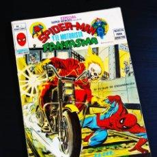 Comics: MUY BUEN ESTADO SUPER HEROES 7 ESPECIAL VERTICE SPIDER-MAN MOTORISTA FANTASMA. Lote 198178471