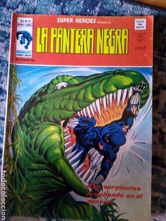 SUPER HÉROES VOL 2 NÚM 78. LA PANTERA NEGRA. VÉRTICE (Tebeos y Comics - Vértice - Super Héroes)
