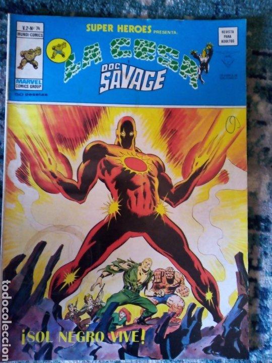 SUPER HÉROES VOL 2 NÚM 74. LA COSA Y DOC SAVAGE (Tebeos y Comics - Vértice - Super Héroes)
