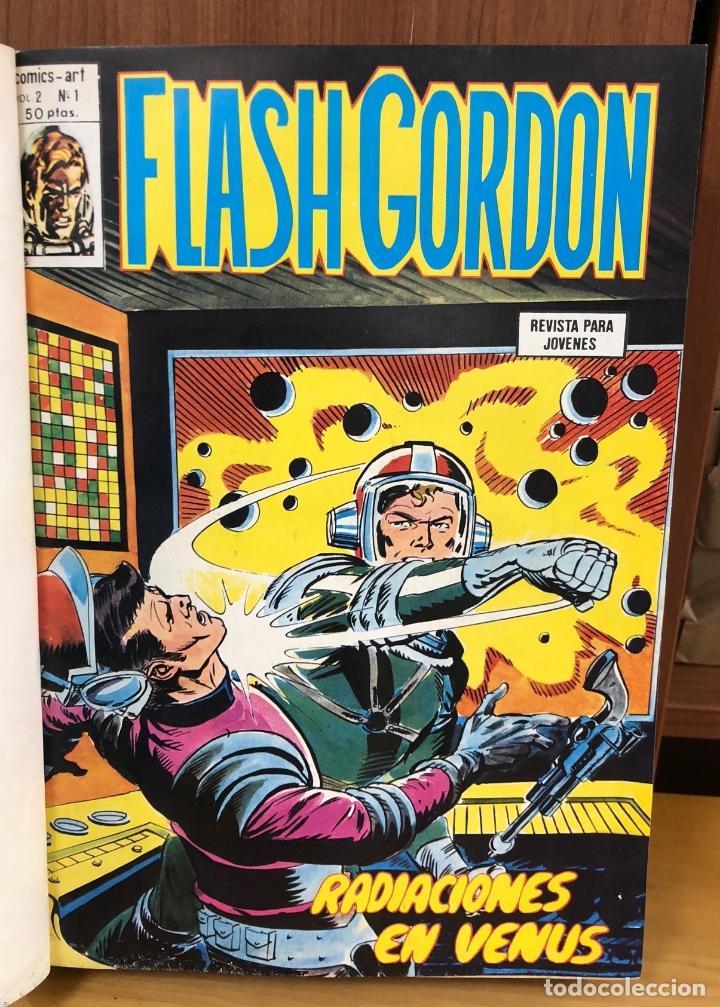 FLASH GORDON. VOL. 2. NUM. 1 AL 30. ENCUADERNADOS EN 2 TOMOS. VERTICE, 1980 (Tebeos y Comics - Vértice - Flash Gordon)