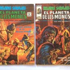 Cómics: RELATOS SALVAJES - EL PLANETA DE LOS MONOS - NÚMERO 2 Y 3. Lote 198203718