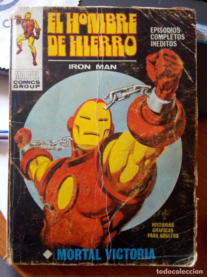 EL HOMBRE DE HIERRO (Tebeos y Comics - Vértice - Hombre de Hierro)