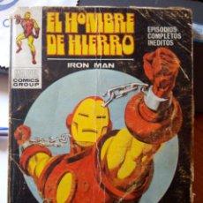 Cómics: EL HOMBRE DE HIERRO. Lote 198294101