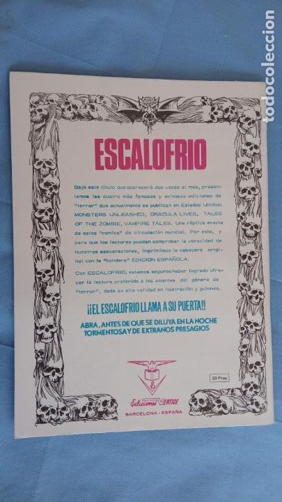 Cómics: MONSTERS UNLEASHED Nº 2 - ESCALOFRIO Nº 6 - COMO NUEVO - JOHN BUSCEMA, JESÚS BLASO, BRUNNER ETC - Foto 2 - 198374032