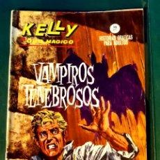 Cómics: VÉRTICE GRAPA KELLY OJO MÁGICO Nº 6 BUEN ESTADO. Lote 198422182