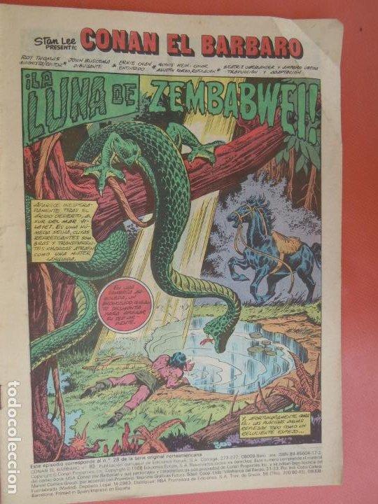 COMIC CONAN EL BARBARO - Nº 83 - LA LUNA DE SEMBABWE - COMICS FORUM - 1986. (Tebeos y Comics - Vértice - Conan)