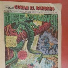 Cómics: COMIC CONAN EL BARBARO - Nº 83 - LA LUNA DE SEMBABWE - COMICS FORUM - 1986. . Lote 198476245