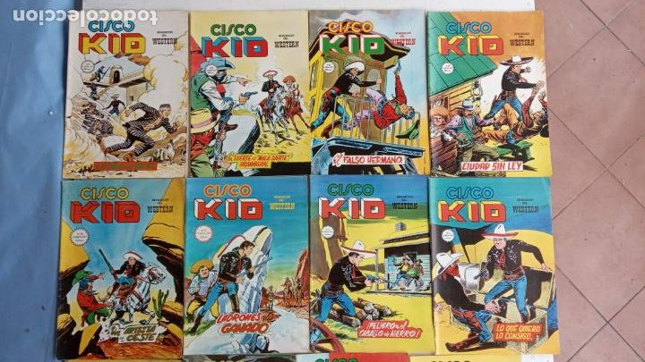 Cómics: CISCO KID VÉRTICE 1979 - 1 A 3, 5 A 16 Y 19 - Foto 3 - 198488026
