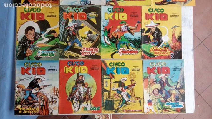 Cómics: CISCO KID VÉRTICE 1979 - 1 A 3, 5 A 16 Y 19 - Foto 4 - 198488026